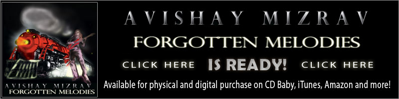 Buy Avishay Mizrav's Album NOW!